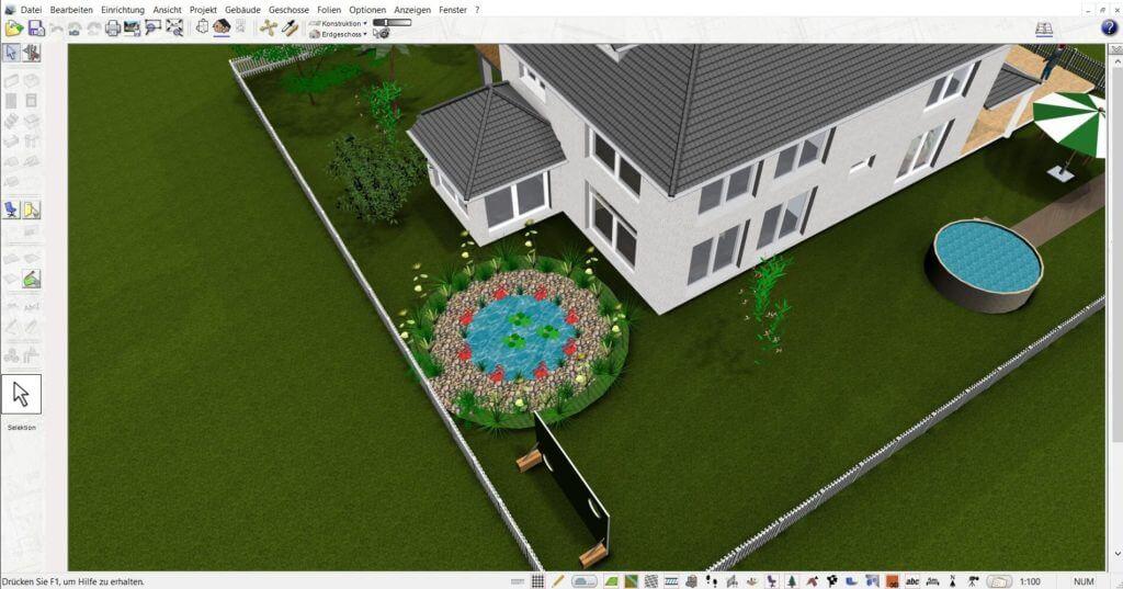 Garten und Wintergarten selber planen