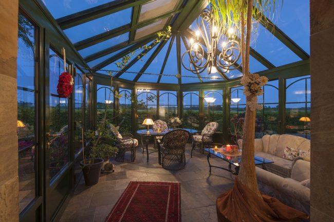 Wintergarten planen in 3D mit HausDesigner3D Software