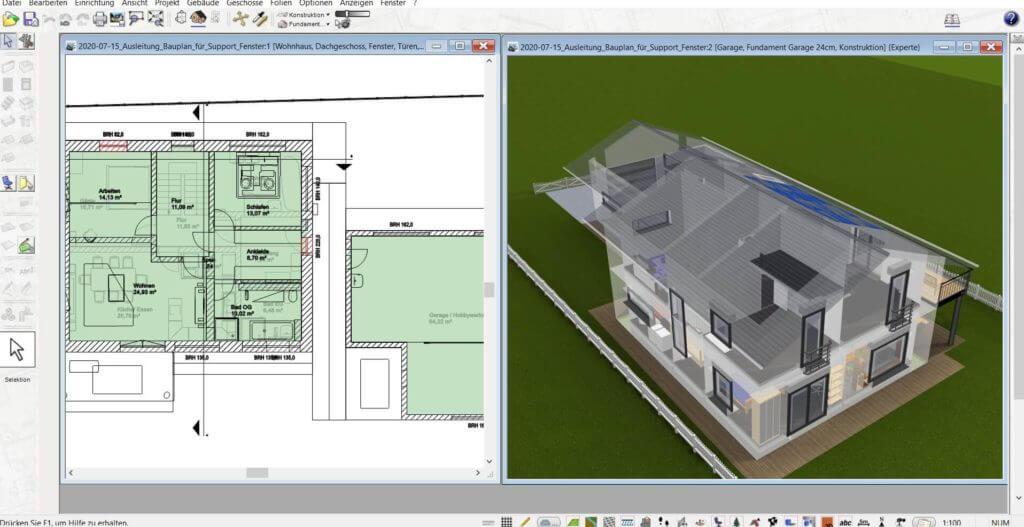 3D Visualisierung mit der Gartenplaner Software