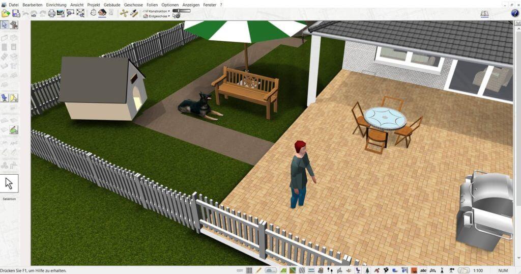 Garten mit Carport planen