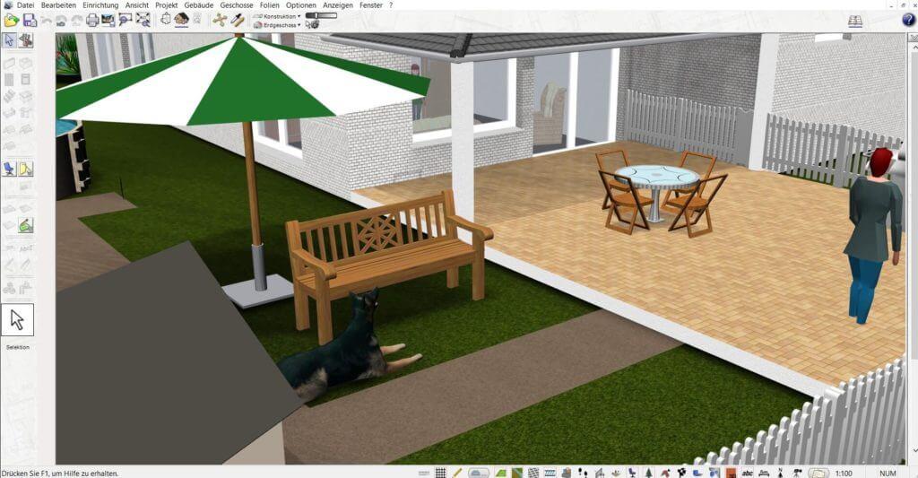 Garten planen mit der Gartenplaner Software