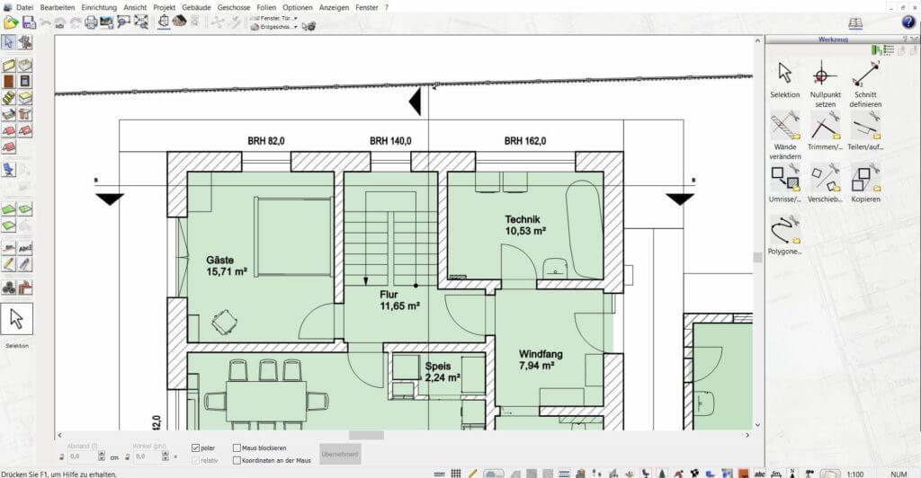 Mehrfamilienhaus mit Balkon planen