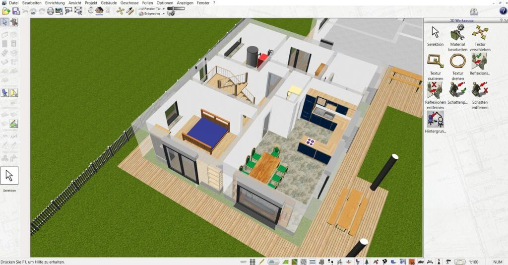Mehrfamilienhaus selber planen