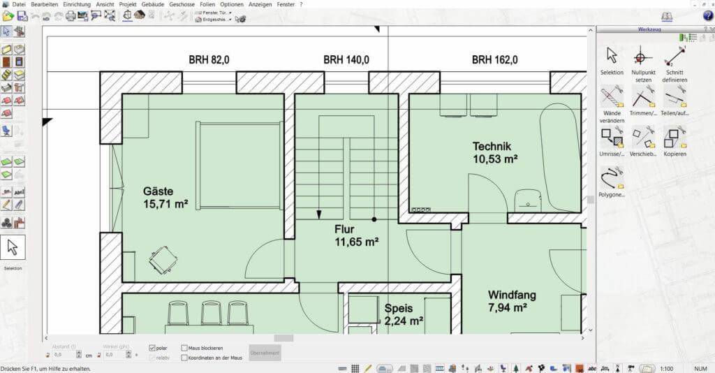 Wohnung planen mit der Gartenplaner Software