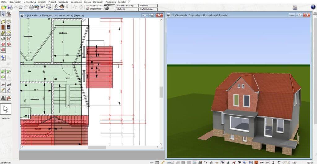 Fotorealistische Visualisierung in 3D und 2D