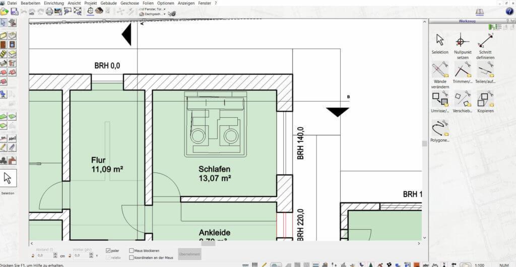 Wohnung planen und visualisieren