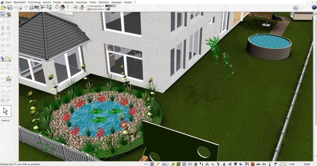 Einfamilienhaus mit Garten planen