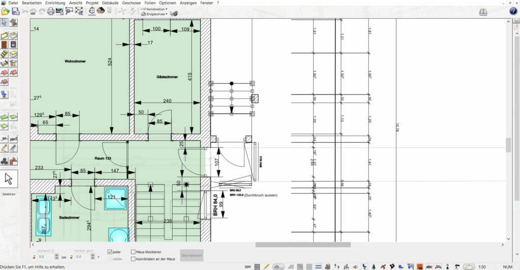 Grundriss vom Einfamilienhaus planen