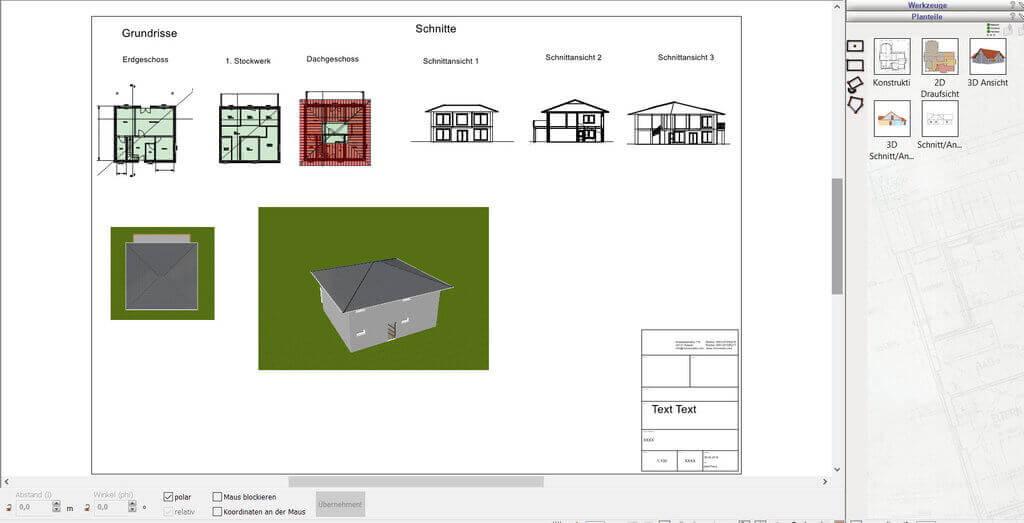 Bauplan erstellen
