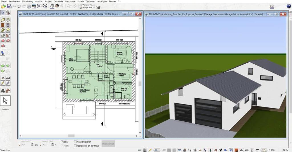 3D Visualisierung mit dem DataBecker TraumHausDesigner Nachfolger