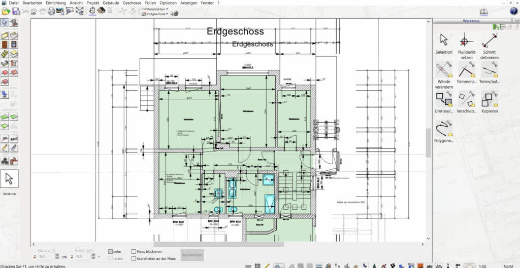 Grundrisse zeichnen mit dem DataBecker TraumHausDesigner Nachfolger