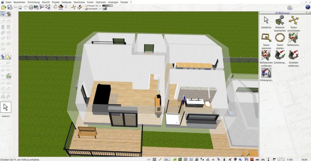 Wohnung planen mit dem DataBecker TraumHausDesigner Upgrade