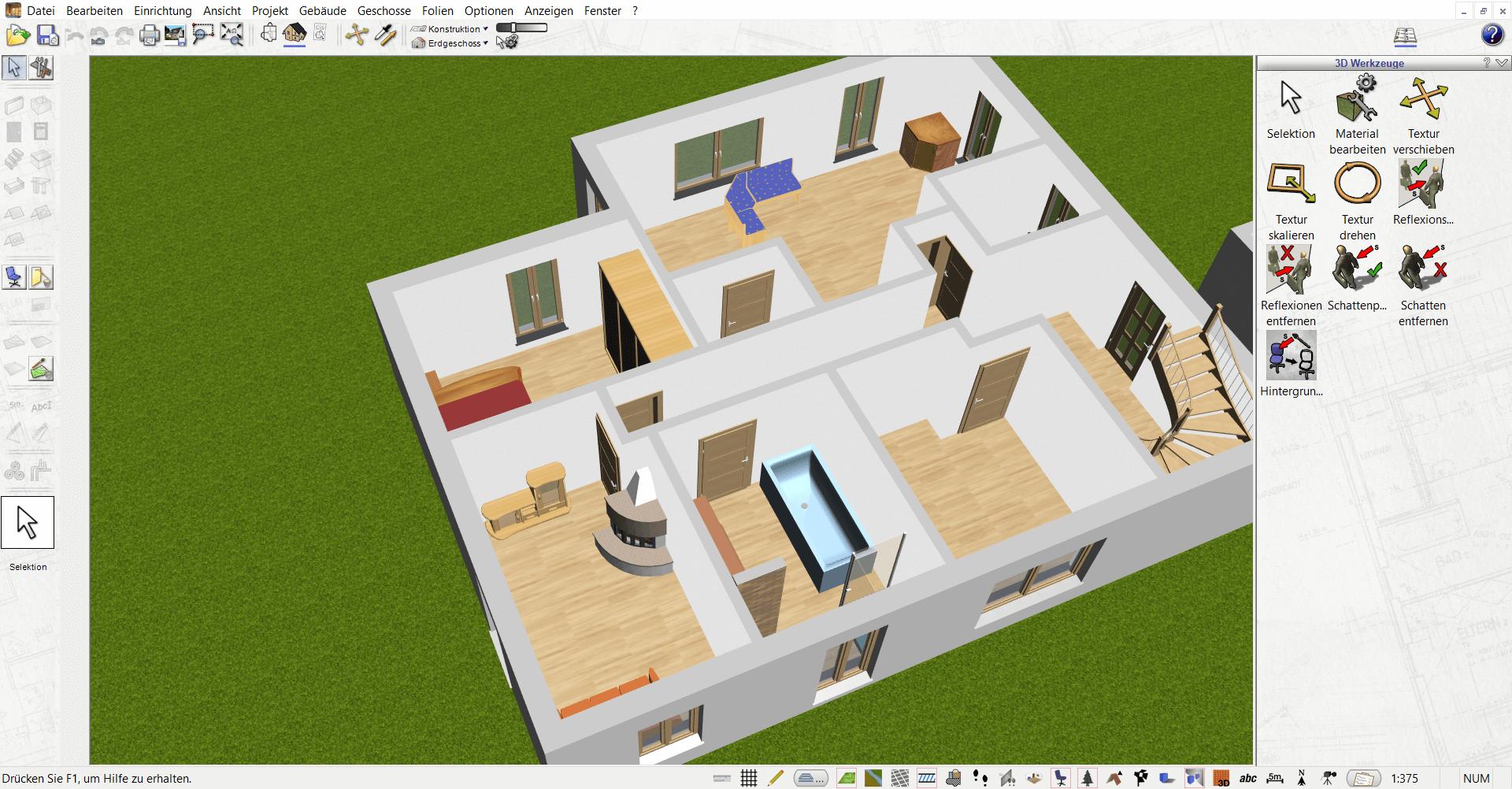 Raumplanung in 3D