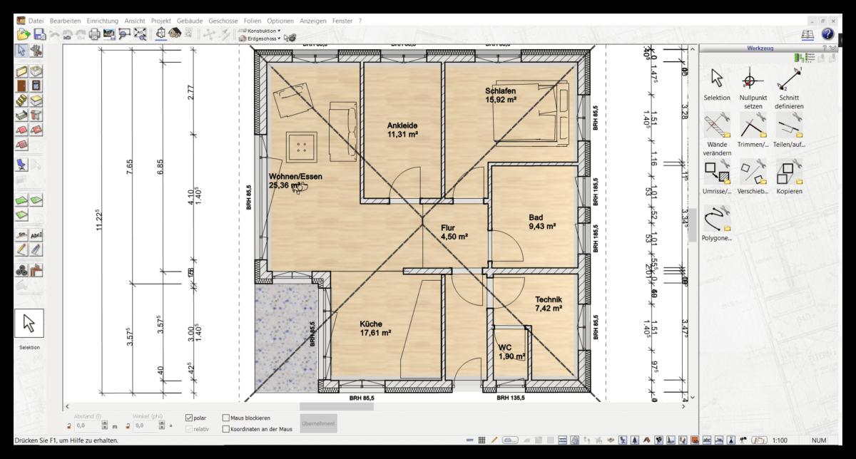 Wohnungsplanung