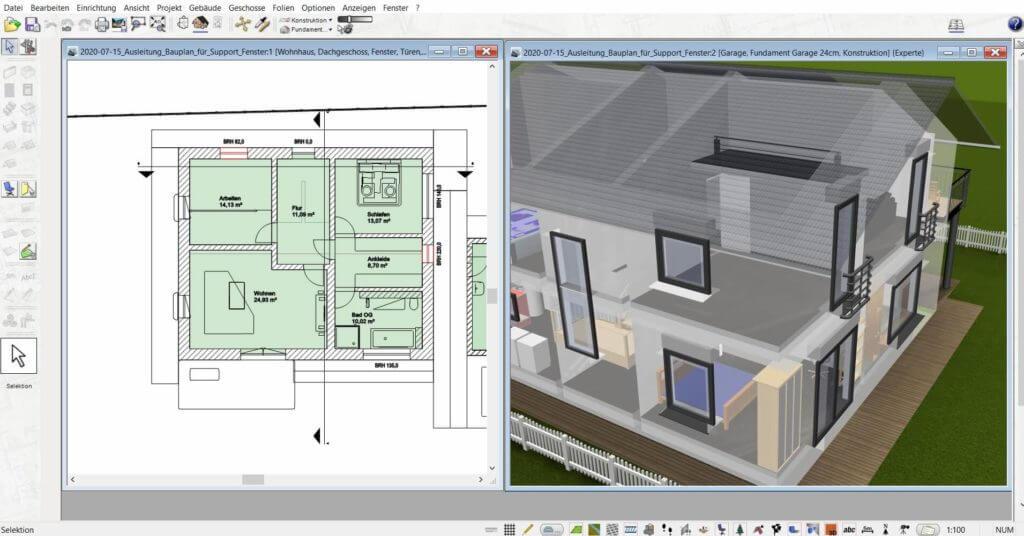 3D Visualisierung mit der Gartendesigner Software