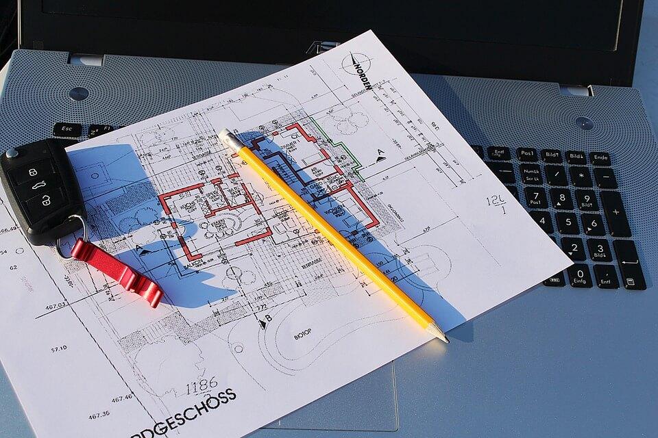 Baupläne erstellen mit CAD Programm