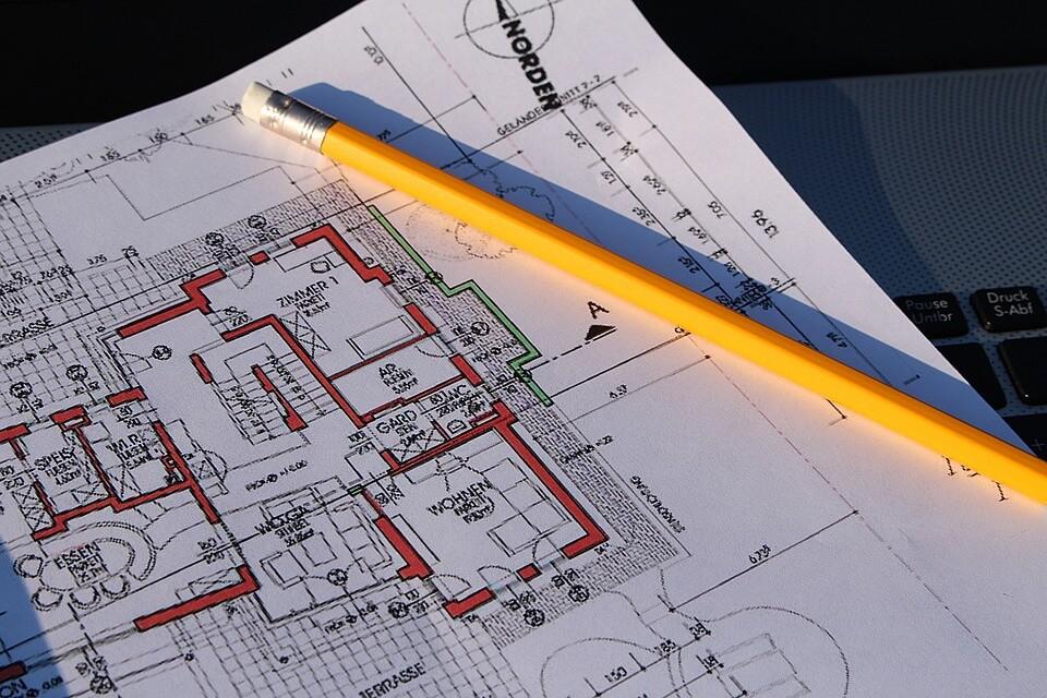 Bauplan erstellen zeichnen