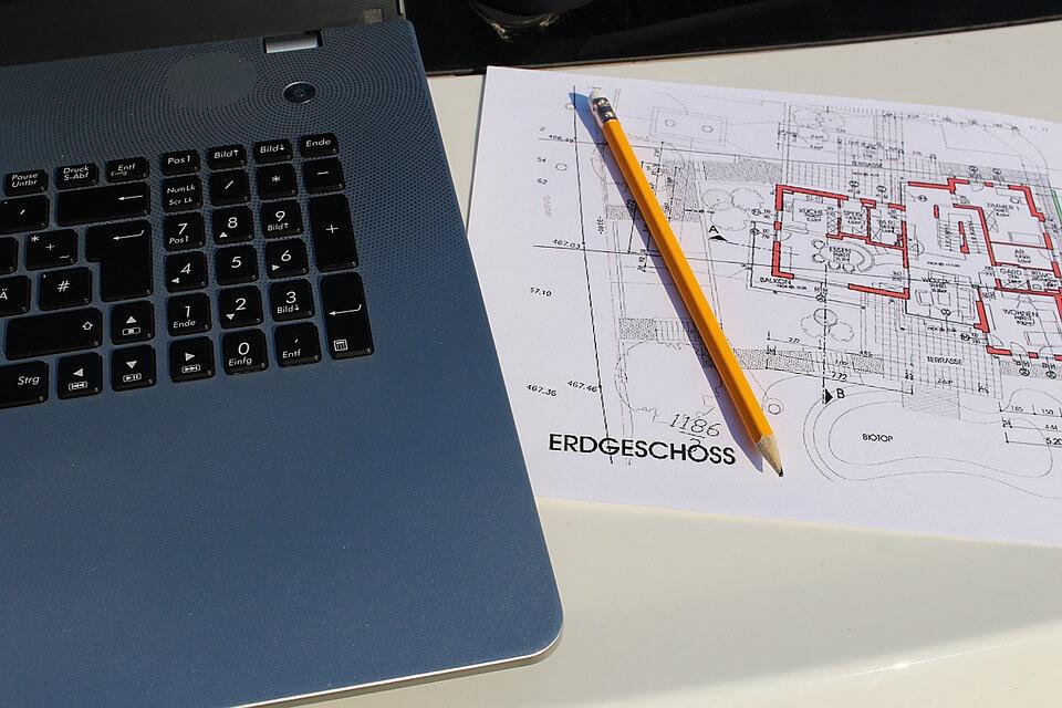 Bauplan mit Software zeichnen in 3D