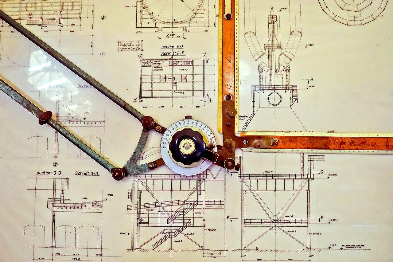 Bauzeichnung nach deutschen Baustandards erstellen
