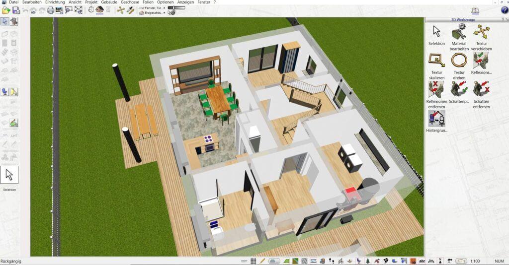 Beuzeichnung der Wohnung planen