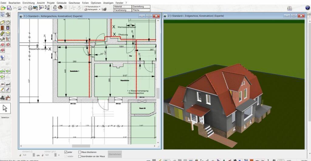 Garage in 2D und 3D planen