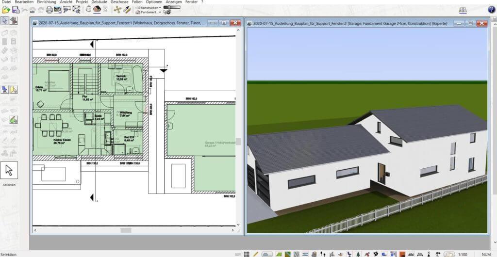 Haus selber planen und visualisieren