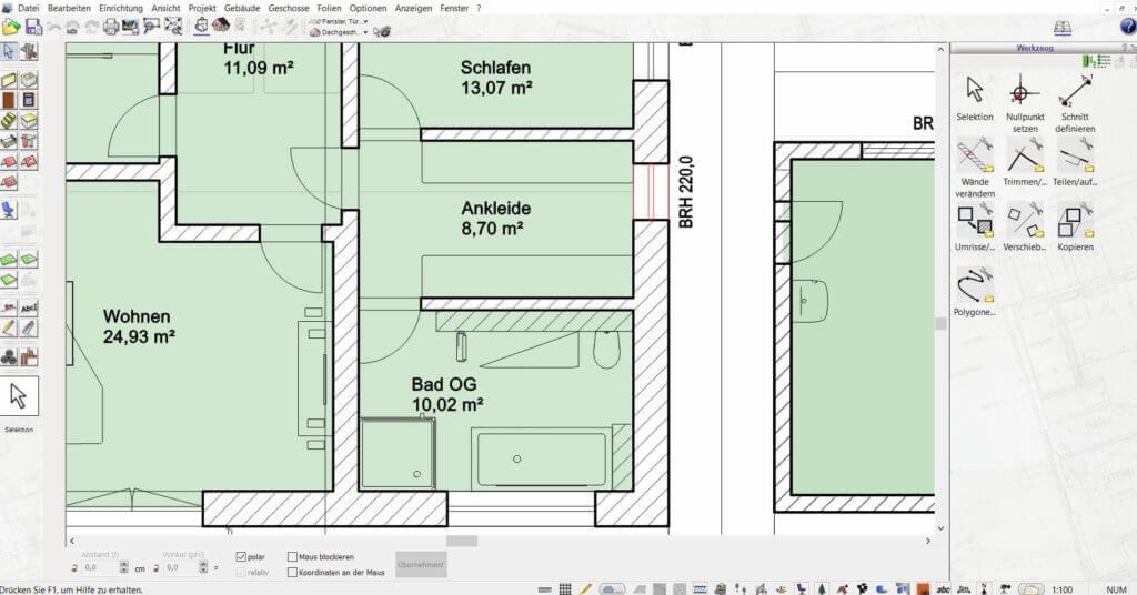 Mehrfamilienhaus mit Dachstuhl planen