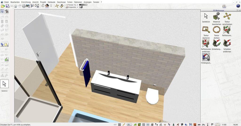 Raumplanung vom Blockhaus
