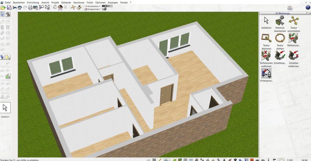 Wohnung planen mit der Gartendesigner Software