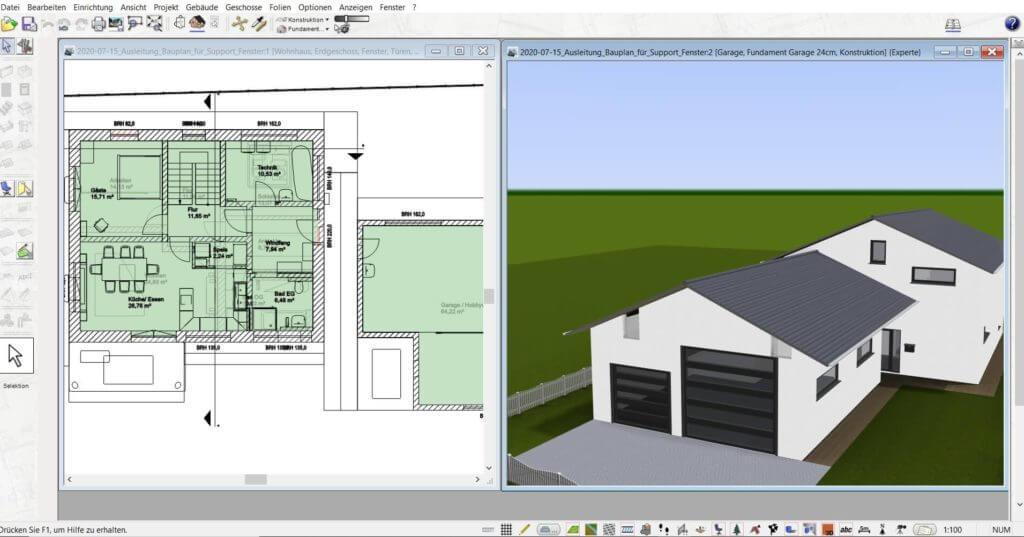 Zeichenprogramm mit 3D Visualisierung