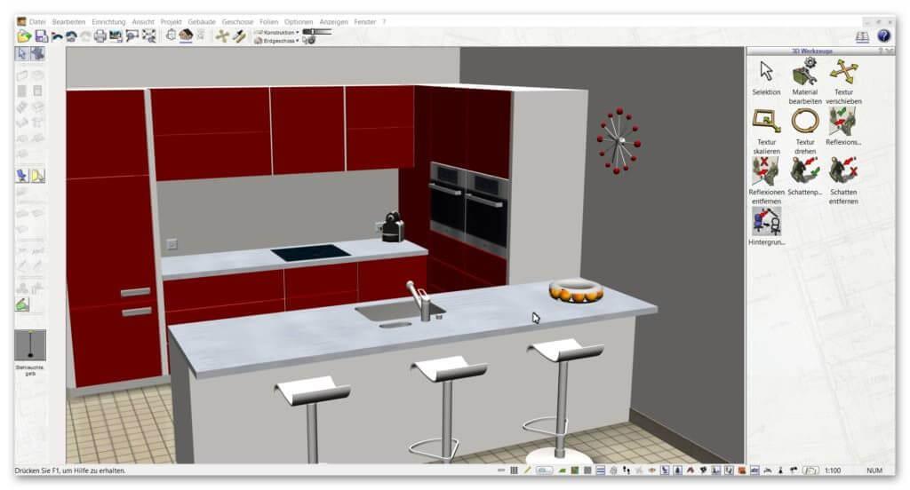 Küchneplaner Software für private Bauherren (1)