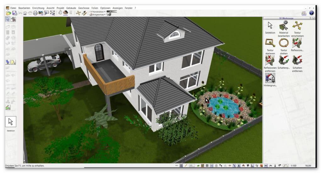 Umbauplanung mit der Architektursoftware (1)