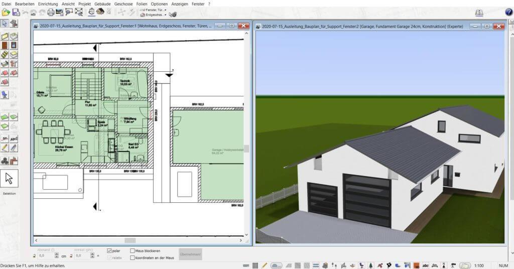 3D Visualisierung mit der Treppenplaner Software
