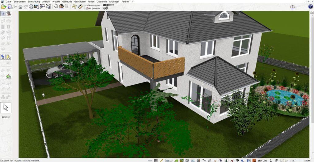 Garten und Terrasse mit Software planen