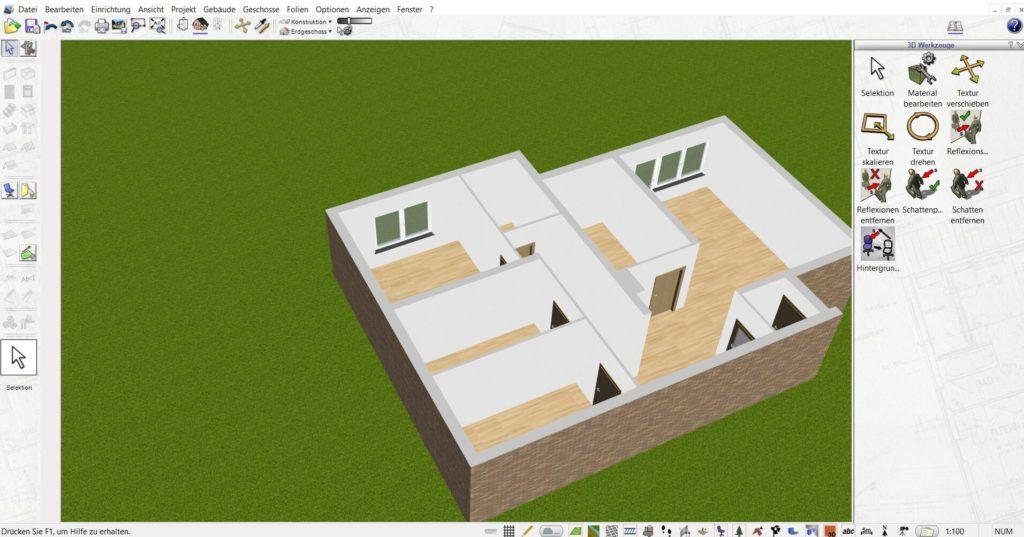 Mehrfamilienhaus mit Gewächshaus planen