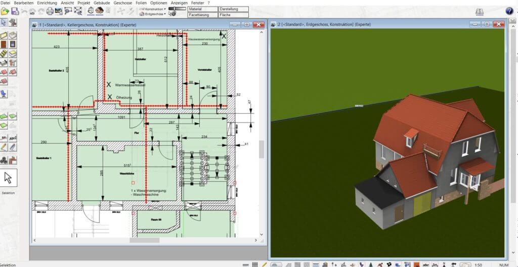 Parallel in 2D und 3D arbeiten