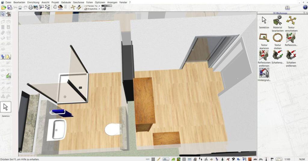 Raumplanung beim Dachausbau