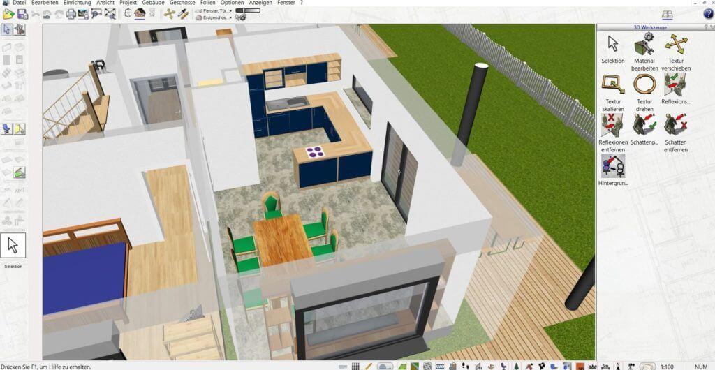 Raumplanung mit der Büroplaner Software