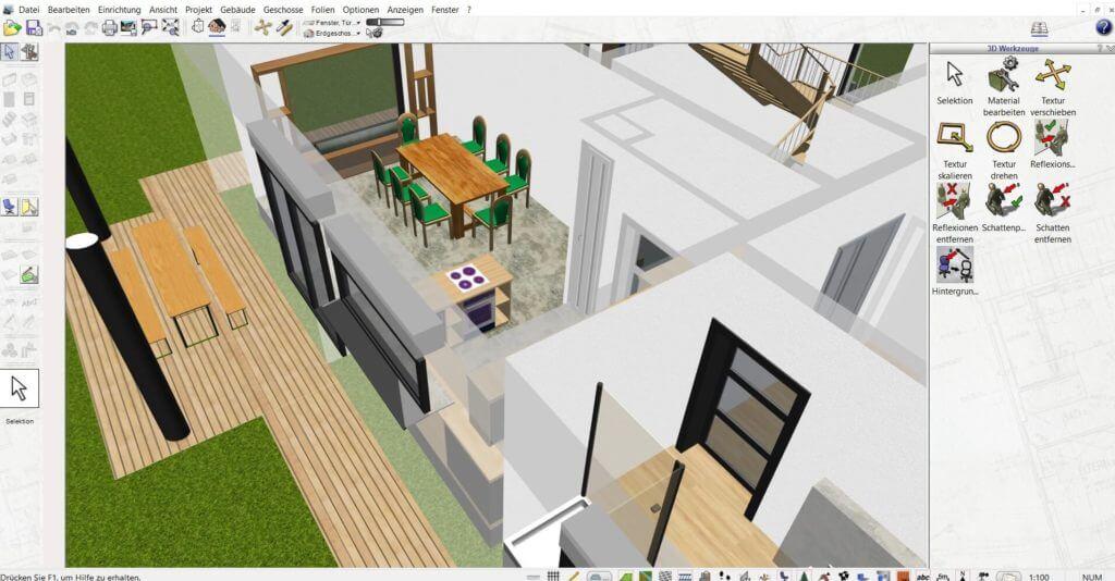 Raumplanung vom Haus selber zeichnen