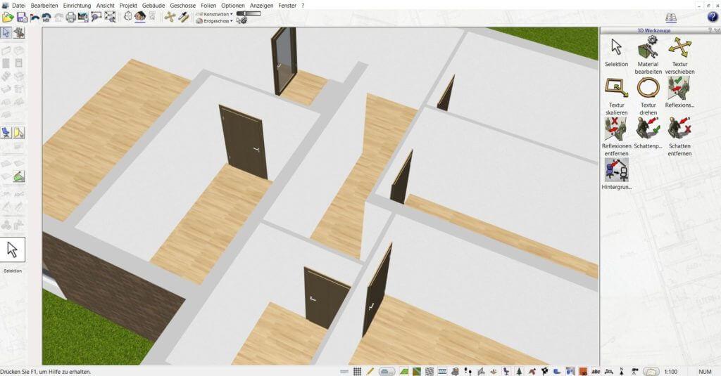 Wohnung mit Dachgauben planen