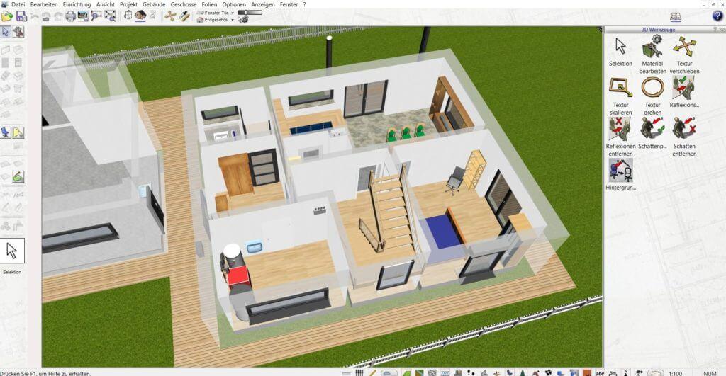 Wohnung mit Terrasse planen