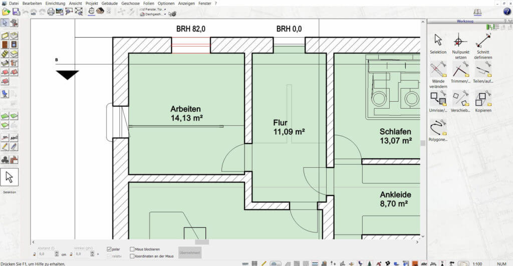 Wohnung planen mit dem Einrichtungsprogramm