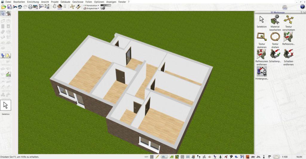 Wohnung planen mit der Büroplaner Software
