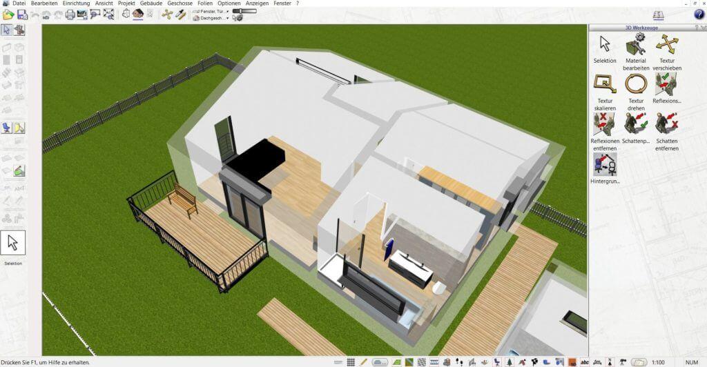 Wohnung planen mit der Treppenplaner Software