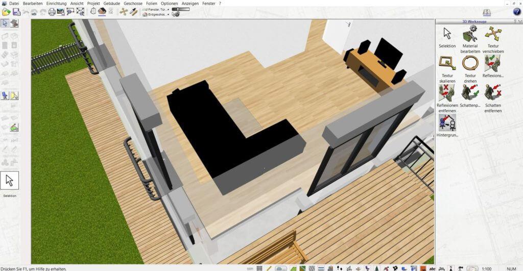 Raumplanung vom Fachwerkhaus