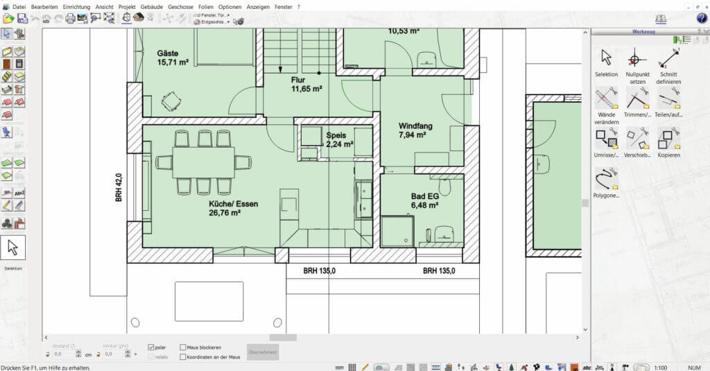 Wohnung mit Fachwerk planen