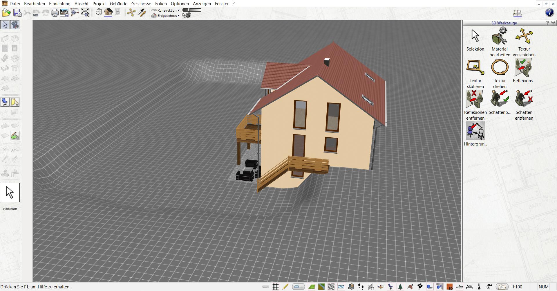 Geländemodellierung